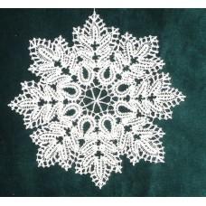 Jégvirág Hópehely mandala